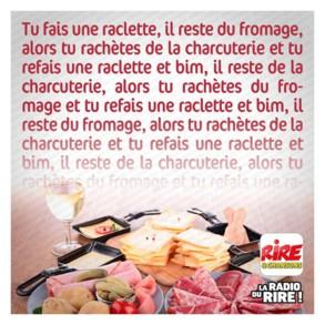 Photos Humour : raclette sans fin