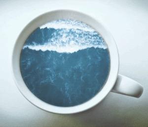 Photos Humour : Café iodé ce matin