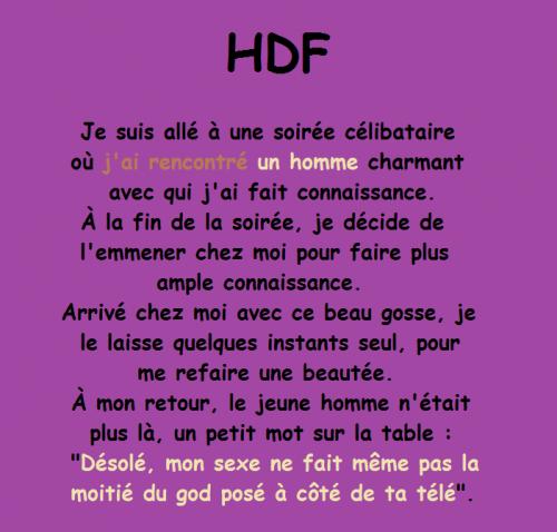 Photos Humour : HDF