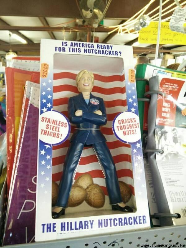 Photos Humour : Hillary Clinton