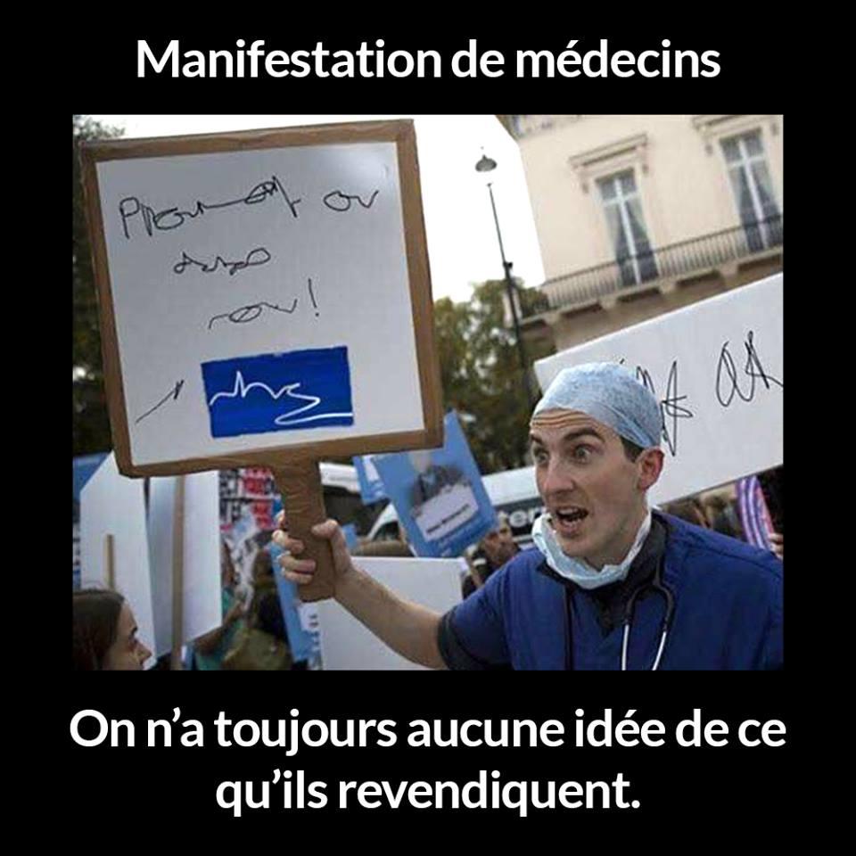 Photos Humour : manifestation