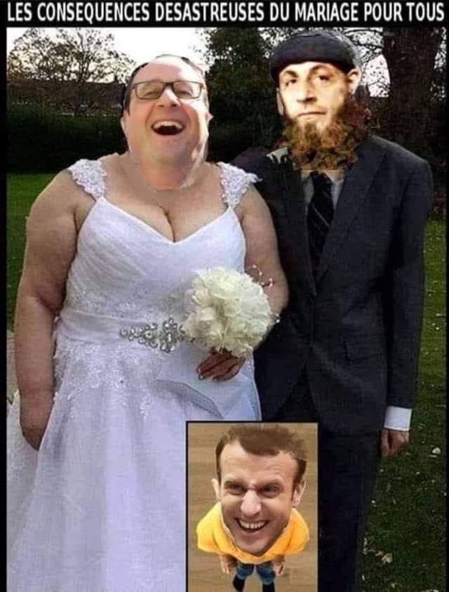 Photos Humour : mariage