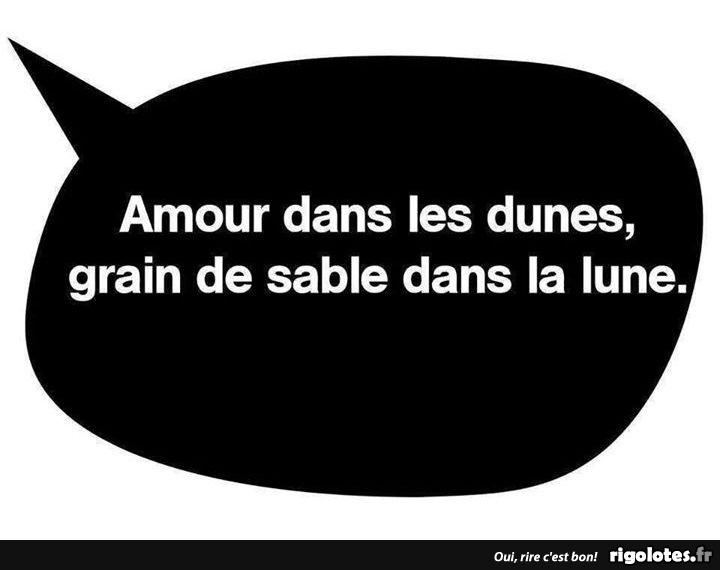 Photos Humour : sable