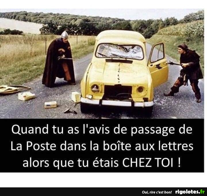 Photos Humour : avis de passage