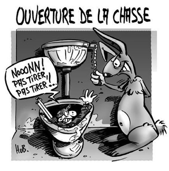 Photos Humour : chasse