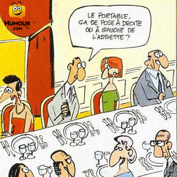 Photos Humour : le portable