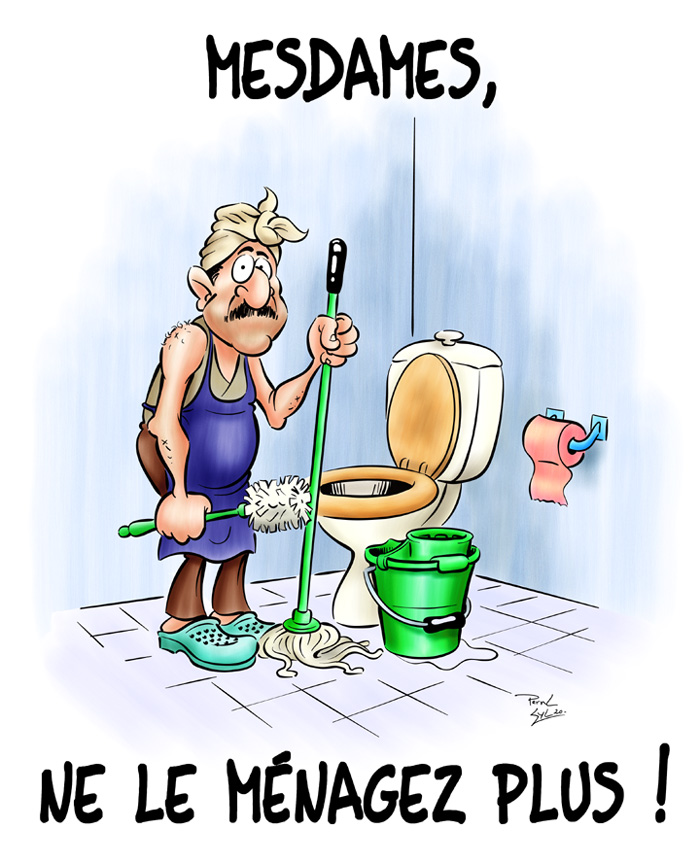 Photos Humour : Mesdames - Ne le ménager plus
