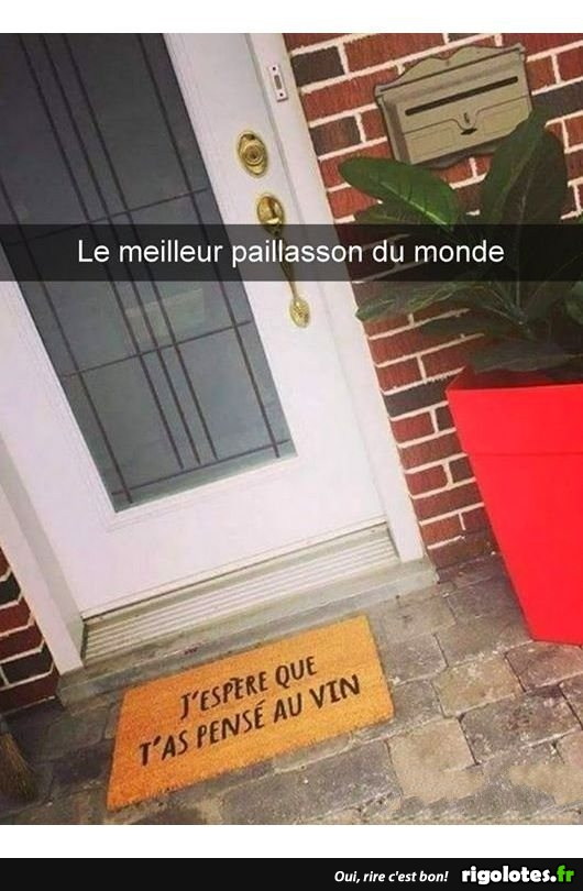 Photos Humour : paillasson