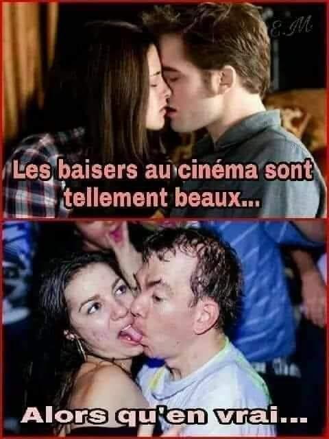 Photos Humour : le baiser