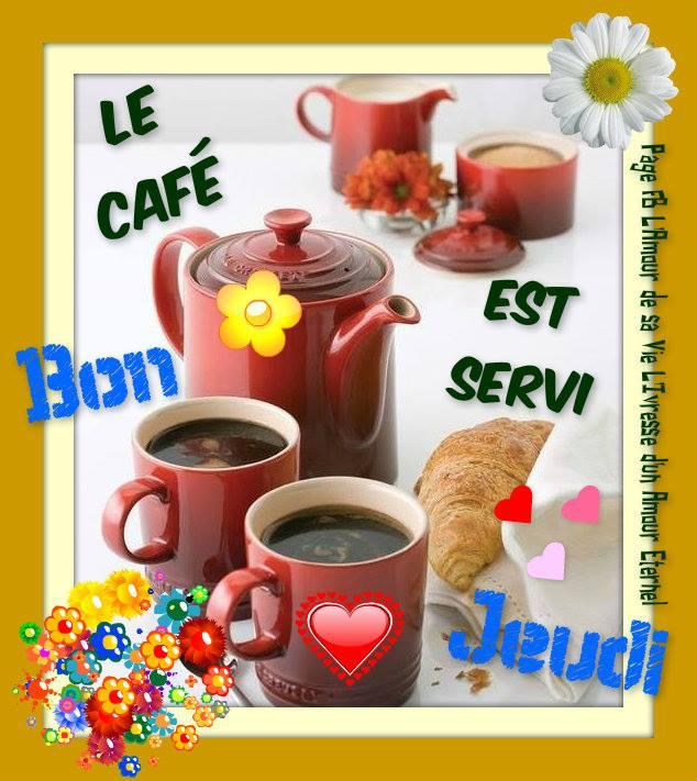 Photos Humour : Le café est servi - Bon Jeudi