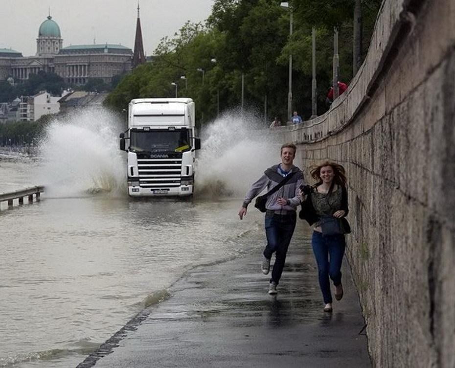 Photos Humour : le conducteur du camion