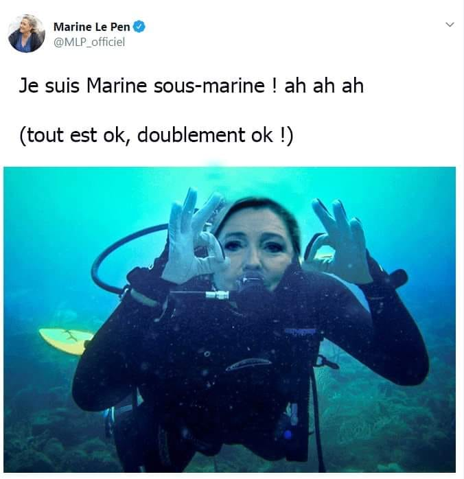 Photos Humour : Marine