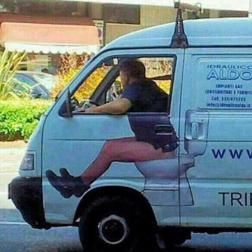 Photos Humour : Camion rigolo