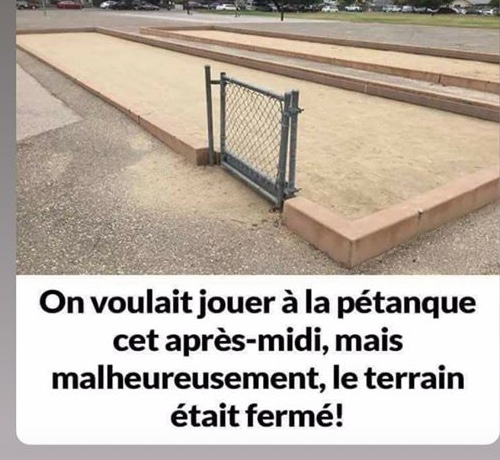 Photos Humour : On voulait !!!