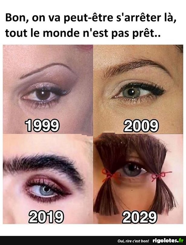 Photos Humour : sourcils