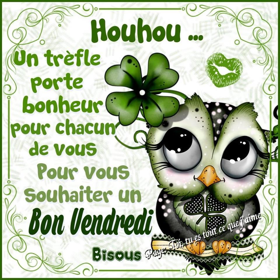 Photos Humour : Houhou - Un trèfle porte bonheur pour chacun de vo