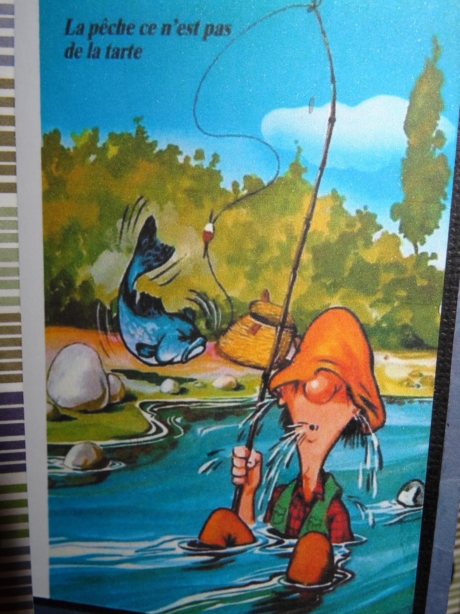 Photos Humour : La pêche ce n