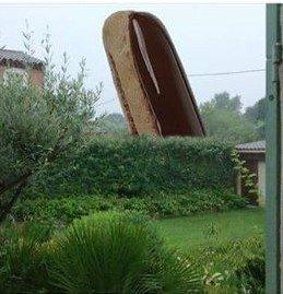 Photos Humour : Lors du dernier orage, un éclair est tombé dans mo