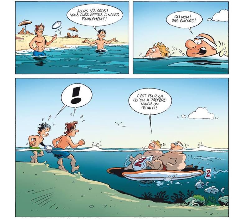 Photos Humour : natation