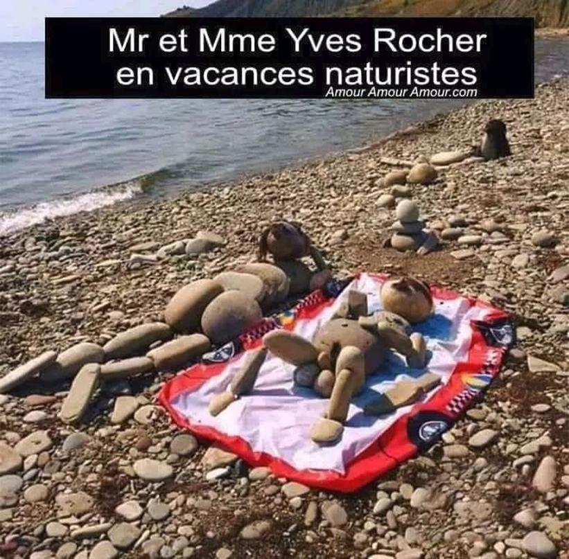Photos Humour : Yves Rocher