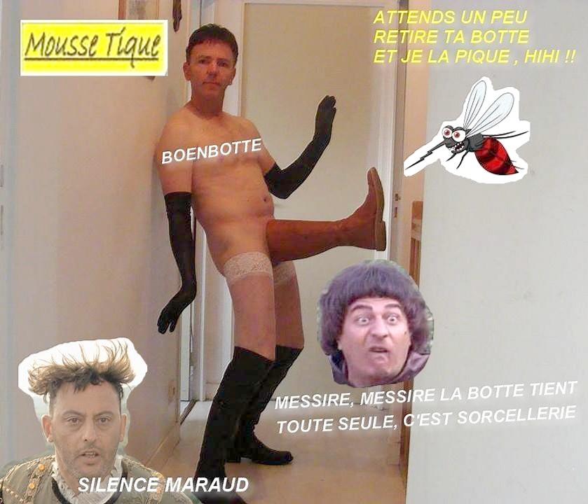 Photos Humour : LES VISITEURS DÉCOUVRE BOENBOTTE