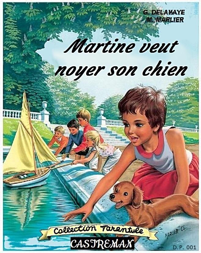 Photos Humour : 001-Martine veut noyer son chien