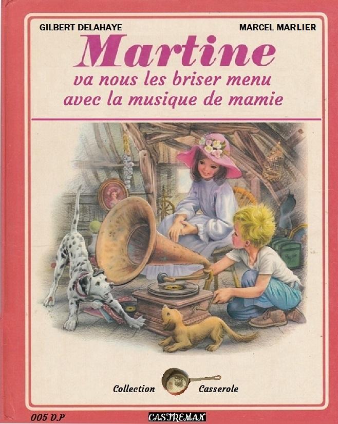 Photos Humour : 005-Martine va nous les briser menu avec la musiqu