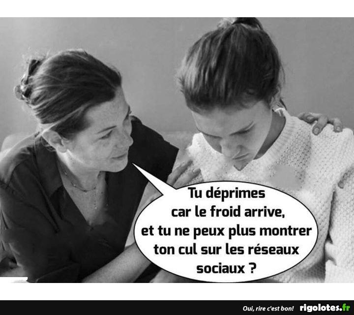 Photos Humour : déprime