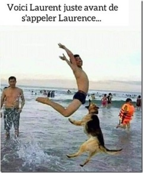 Photos Humour : LAURENT ! LAURENCE