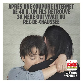 Photos Humour : 48 heures sans internet