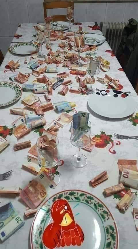 Photos Humour : repas gastronomique