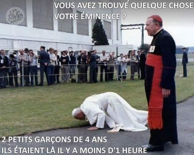 Photos Humour : sa Sainteté