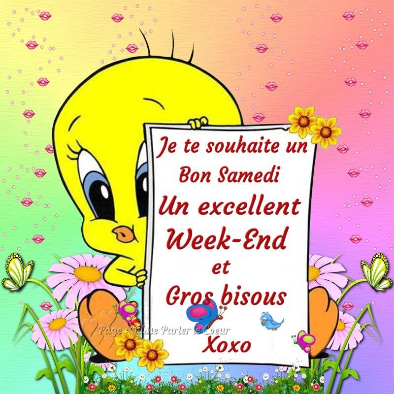 Photos Humour : Je te souhaite un bon samedi - Un excellent week-E