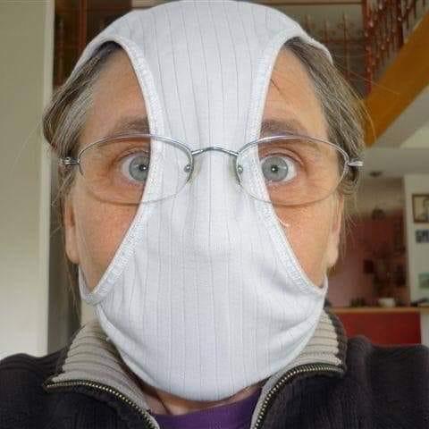Photos Humour : pénurie de masques