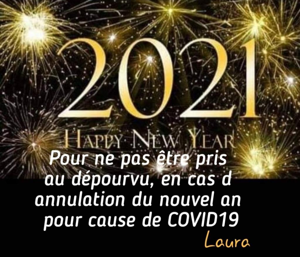 Photos Humour : 2021 Happy New Year - Pour ne pas être pris au dép