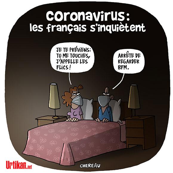 Photos Humour : Coronavirus - Les Français s