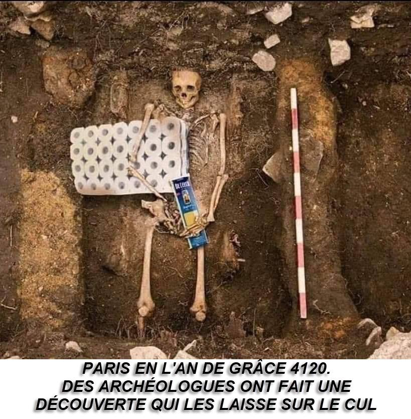 Photos Humour : fouilles