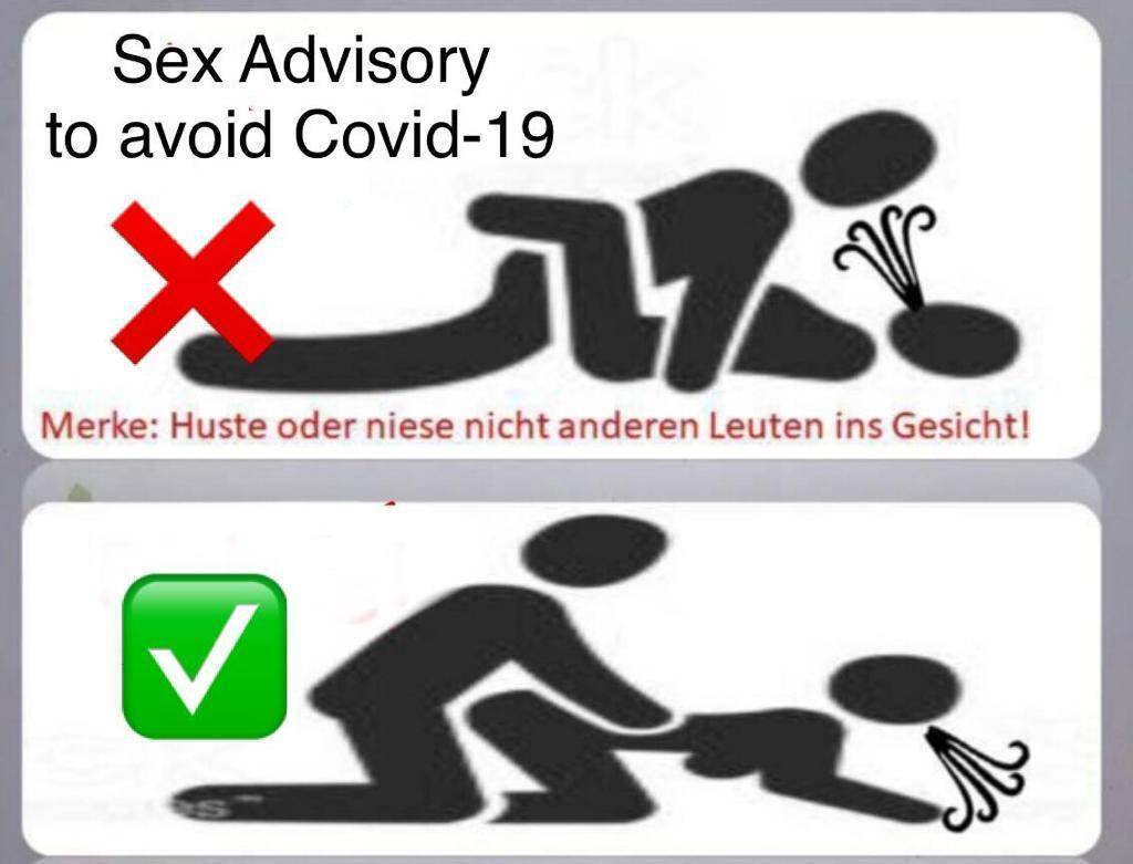 Photos Humour : Sex in humour - Covid-19