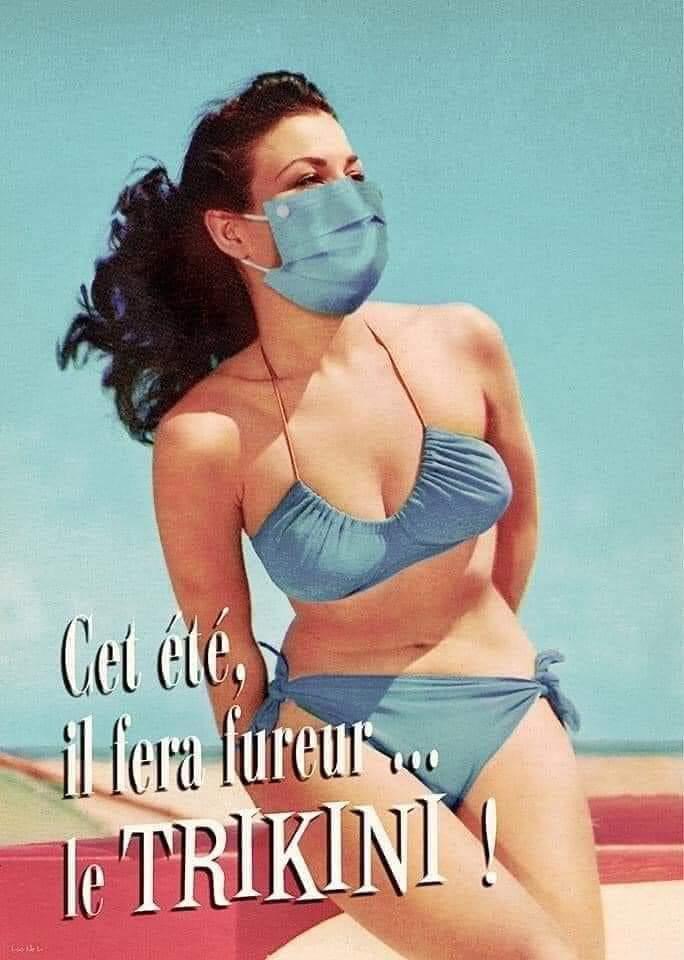 Photos Humour : Cet été, il fera furreur le trikini