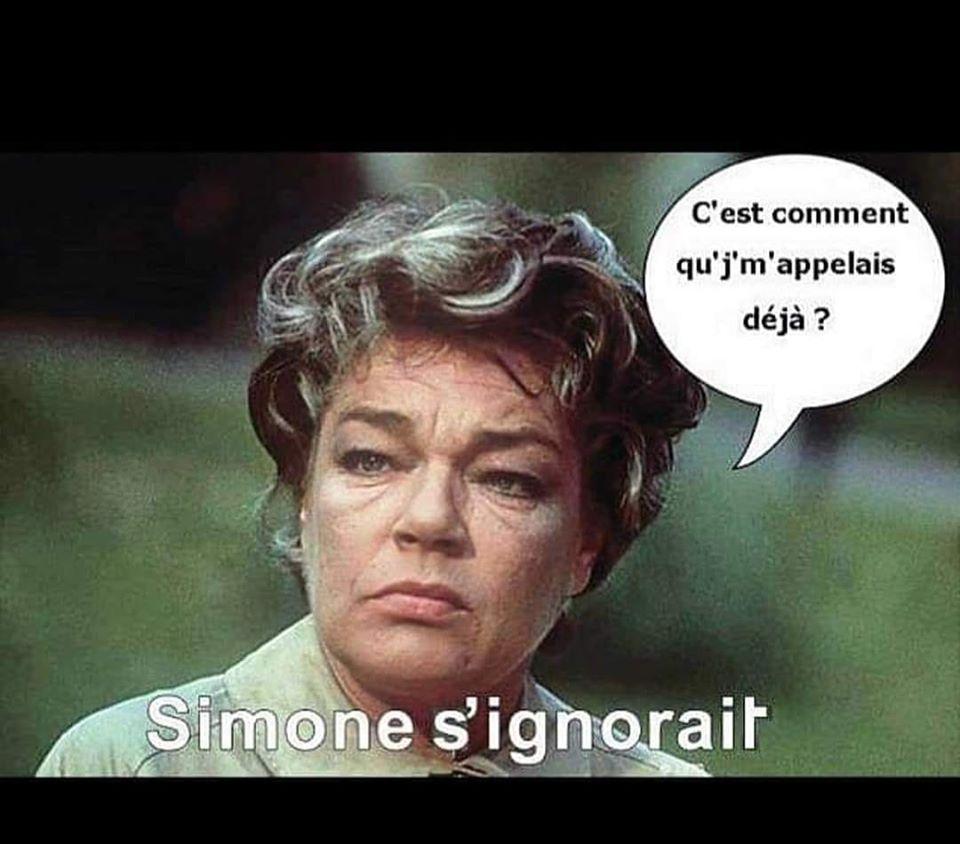 Photos Humour : Mme Signoret