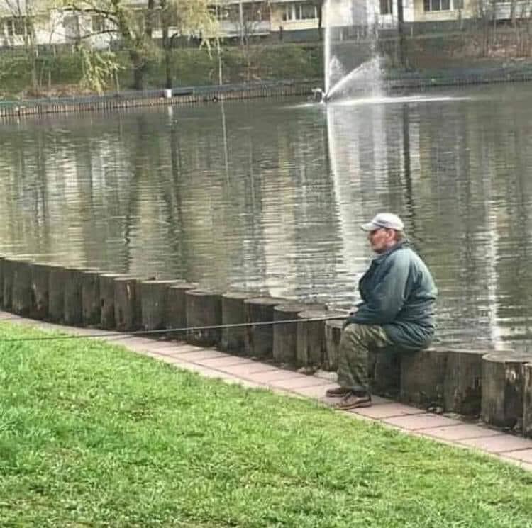 Photos Humour : pêcheur