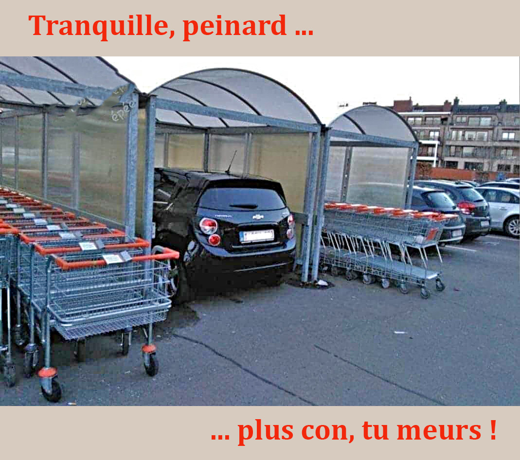 Photos Humour : parking