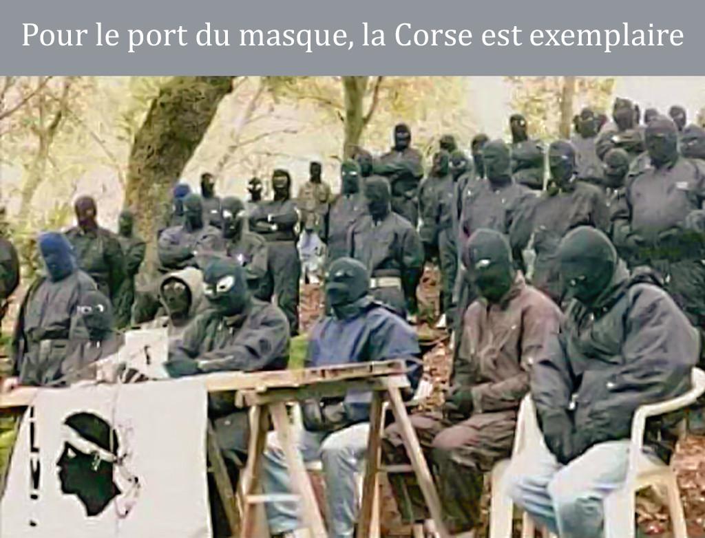 Photos Humour : port du masque