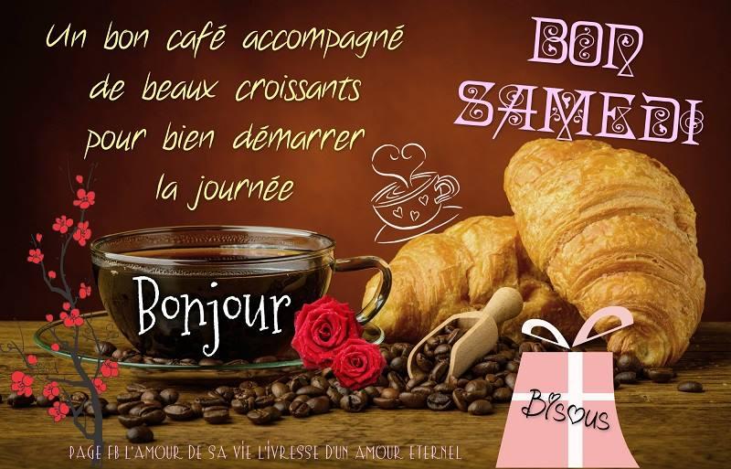 Photos Humour : Un bon café accompagné de beaux croissants pour