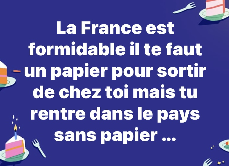 Photos Humour : La France