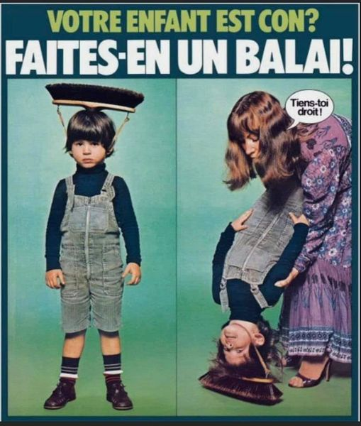 Photos Humour : Votre enfant est con ?