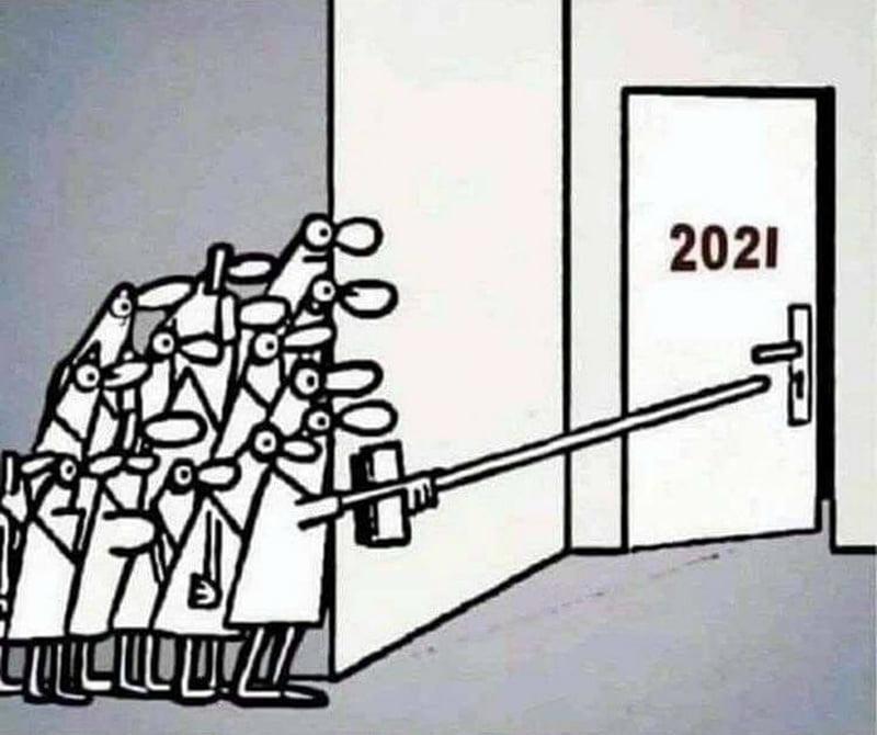 Photos Humour : Attention à 2021