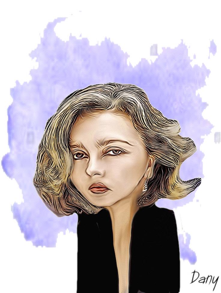 Photos Humour : Caricature Caroline Cellier