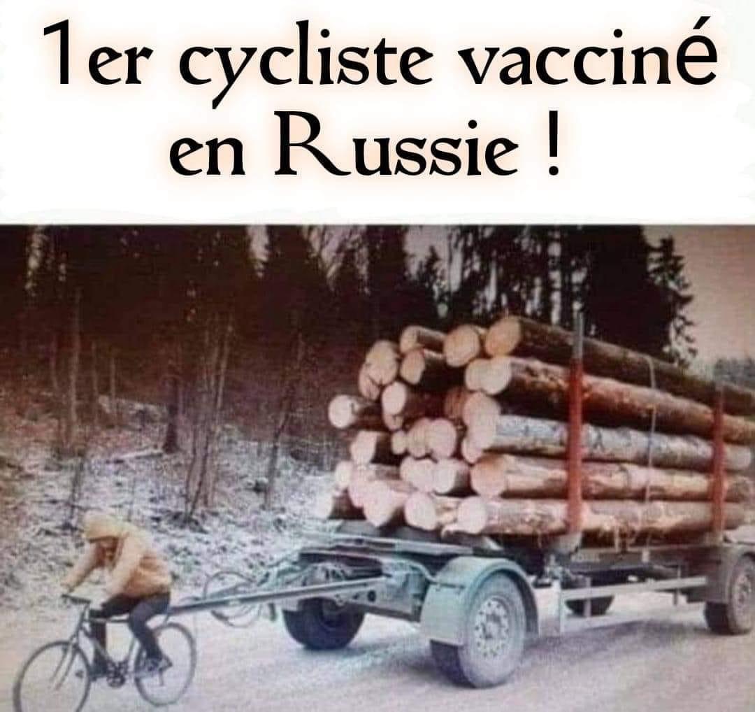 Photos Humour : le vaccin russe est efficace...