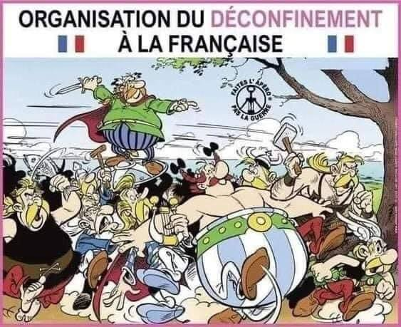 Photos Humour : Organisation du d